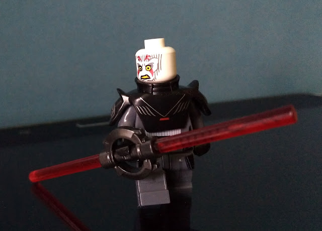 Grand Inquisitor without helmet Star Wars