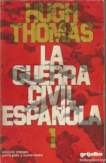 La guerra civil española / Hugh Thomas