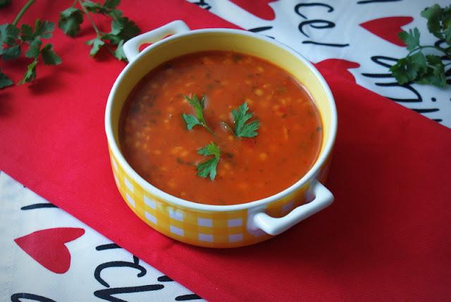 dania babci zosi,sys,skworcu,olitalia,zupa pomidorowa,pomidorówka,szybka zupa,