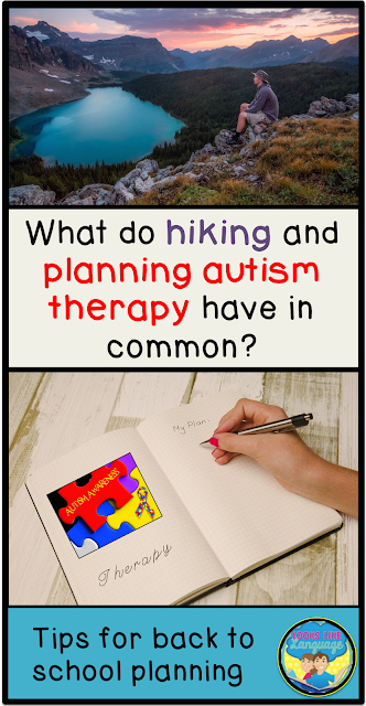Planning autism therapy with some hiking insights! Looks Like Language