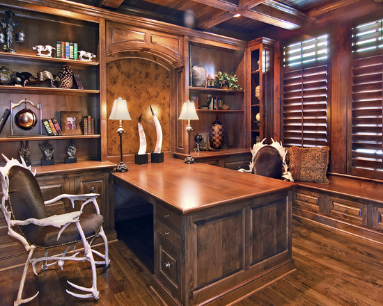Rustic Home Office Furniture Collections