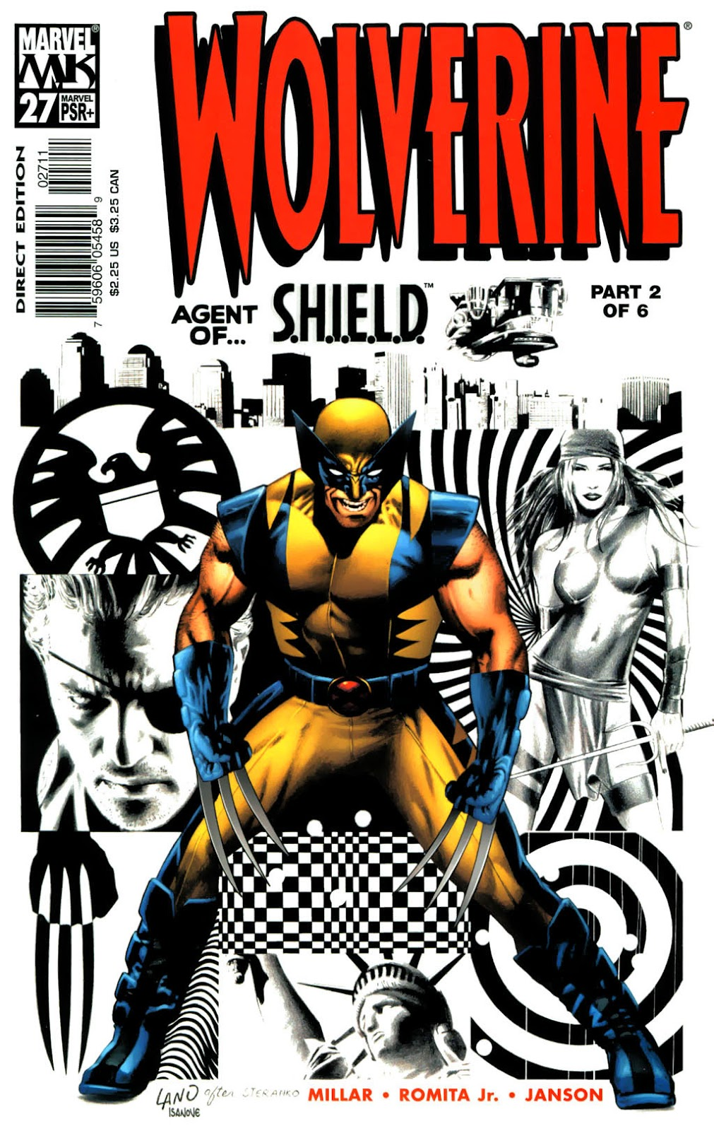 Read online Wolverine (2003) comic -  Issue #27 - 1