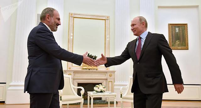 El presidente ruso visitará Armenia