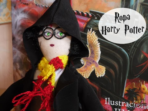 Ropa de Harry Potter - Muñecos de trapo