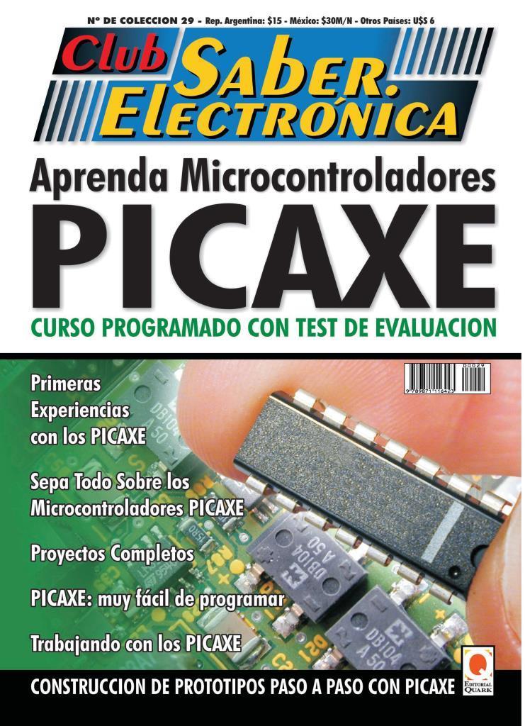 Club Saber Electrónica – Aprenda Microcontroladores PICAXE