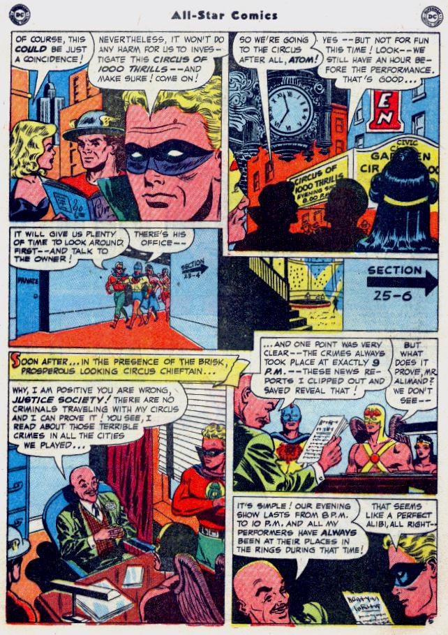 Read online All-Star Comics comic -  Issue #54 - 7