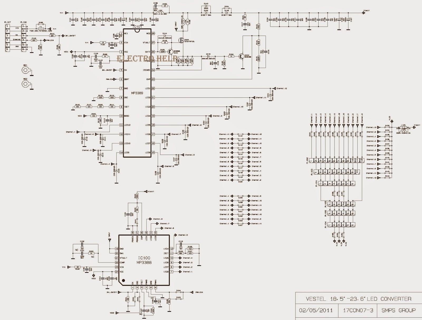 DIAGRAM] Tv Vestel Schematic Diagram FULL Version HD Quality