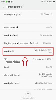 Cara Mengaktifkan USB Debugging Xiaomi Mi4