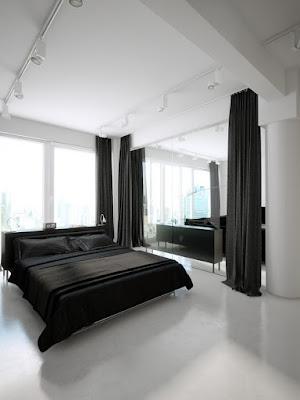 Imagens de Design de interiores mix de preto e branco