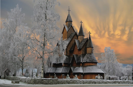Heddal Stave Church, Norway #adventure