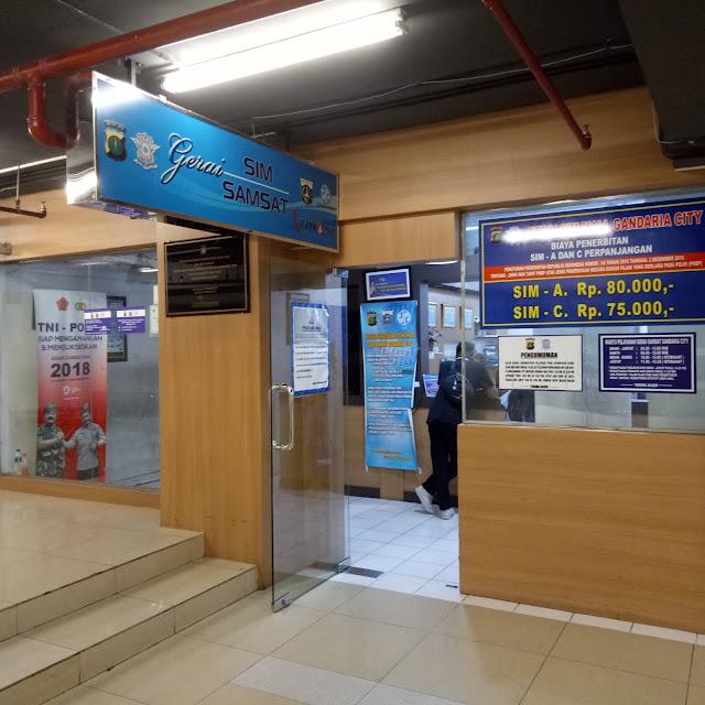 Gerai SIM Mall Gandaria City