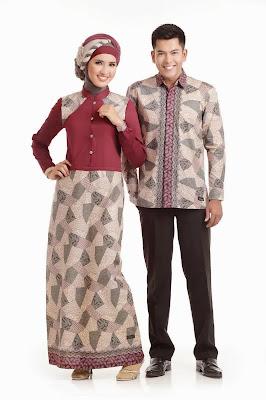 Baju Batik Modern Couple, Model Terbaru