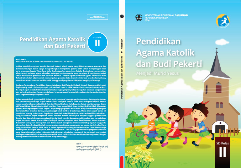Download Gratis Buku Siswa Pendidikan Agama Katolik dan Budi Pekerti Kelas 2 SD Kurikulum 2013 Format PDF