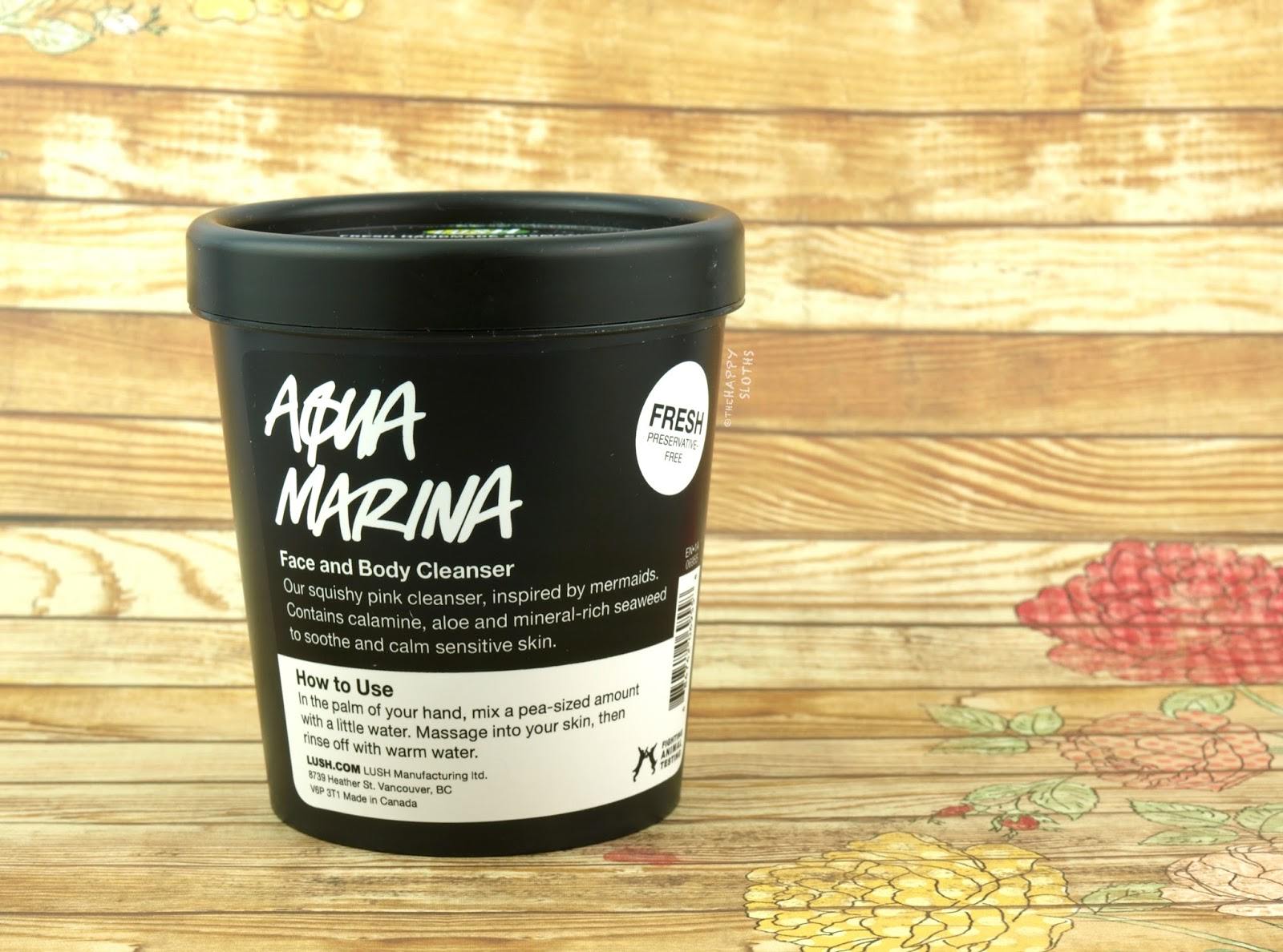 Lush Aqua Marina Face and Body Cleanser: Review
