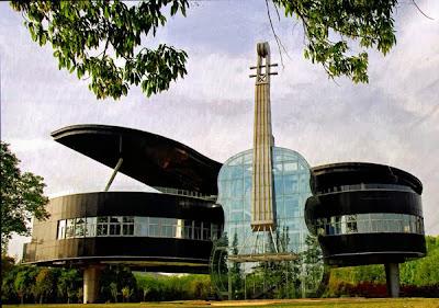 Κτίριο σε σχήμα πιάνου