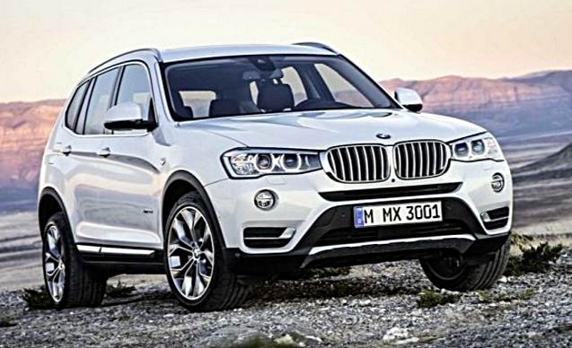 2017 BMW X3 Release Date