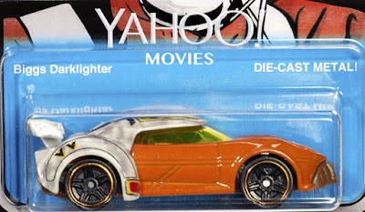Star Wars Celebration 2017 Exclusive Biggs Darklighter Hot Wheels Character Car