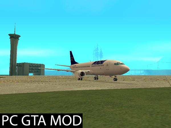Free Download Boeing 737-300 (Livery Pack) v4  Mod for GTA San Andreas.