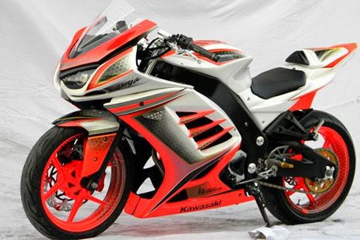 Foto Modifikasi Kawasaki Ninja 250R Terbaru