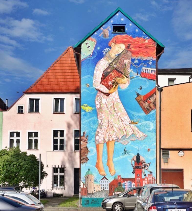 Słupsk murale, co zobaczyć w SłupskuSłupsk murale,