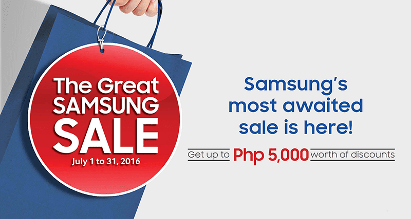 Great Samsung sale 2016