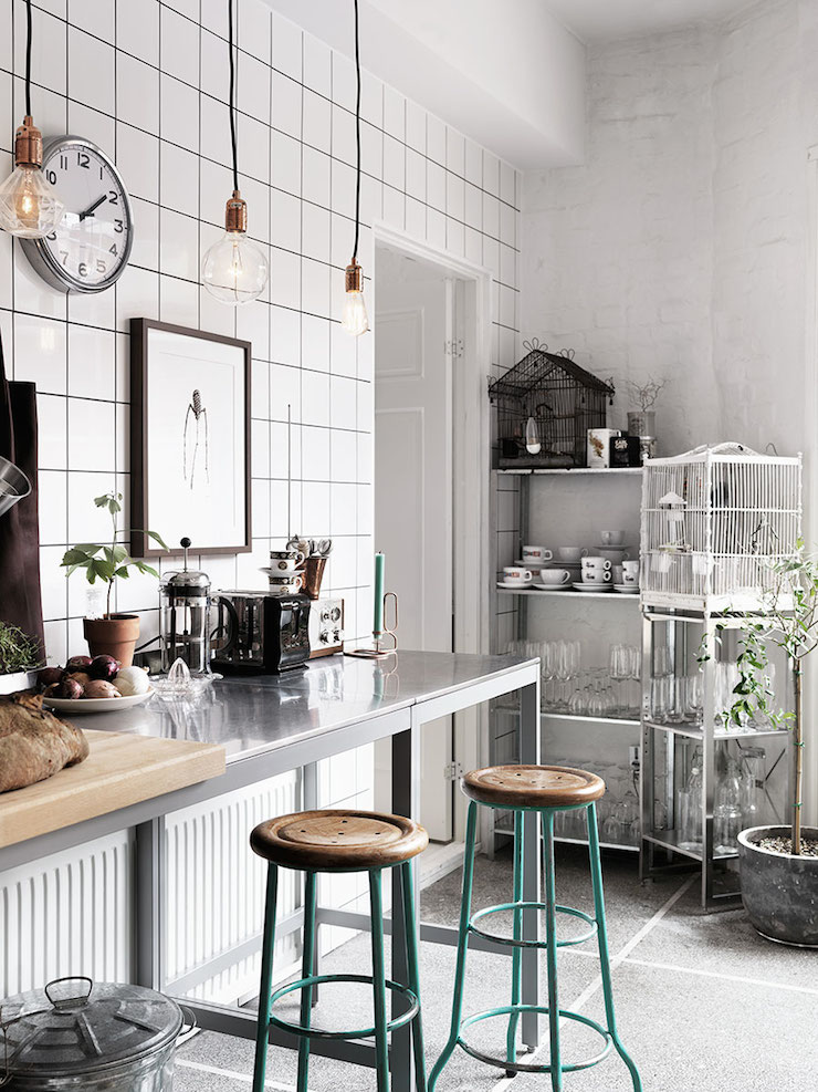 decordemon Industrial Style Malm Apartment
