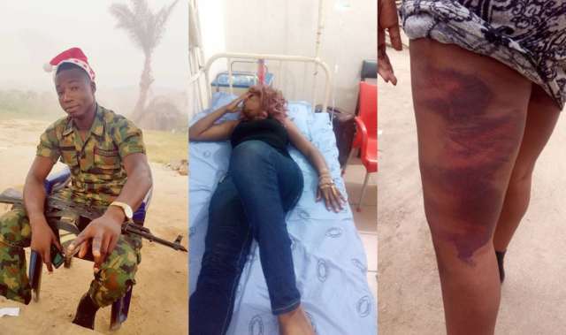 soldier-identified-as-suleiman-olamilekan-for-assaulting-nollywood-actress-jewel-infinity