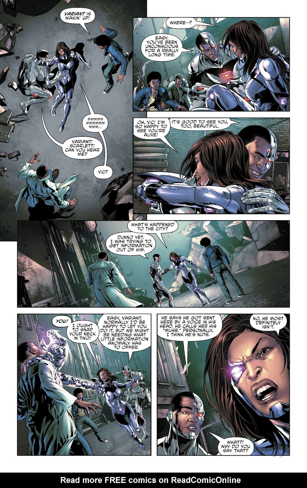 Read online Cyborg (2016) comic -  Issue #14 - 11