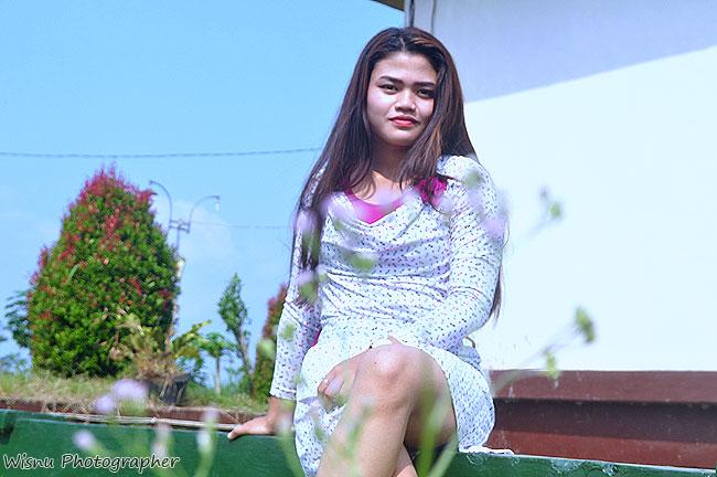 SEXY CASUAL Rosiliana Talent Model Purwokerto - foto oleh Wisnu Klikmg