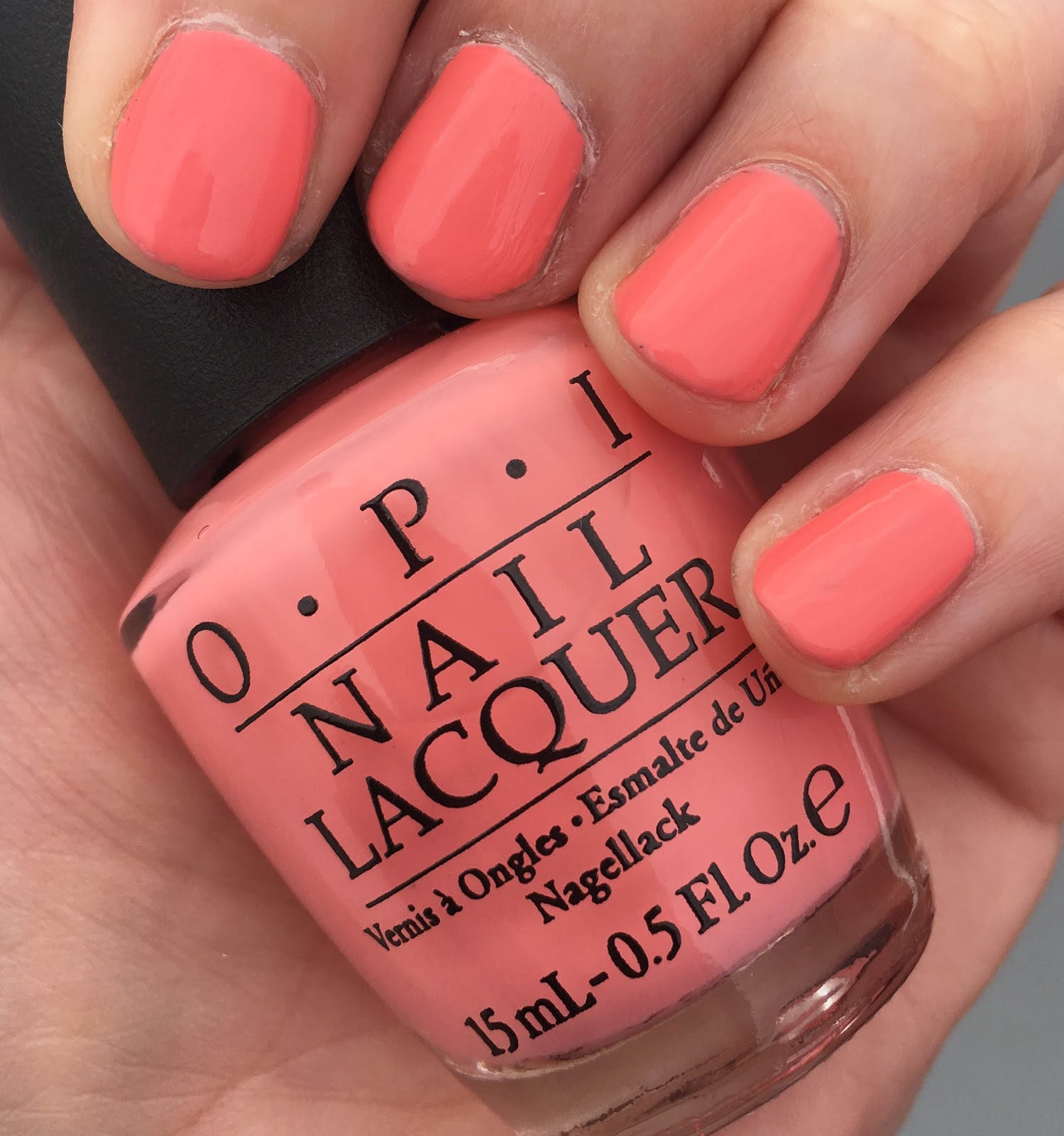 The Beauty of Life: Coral Crush: OPI Got Myself Into A Jam-balaya ...