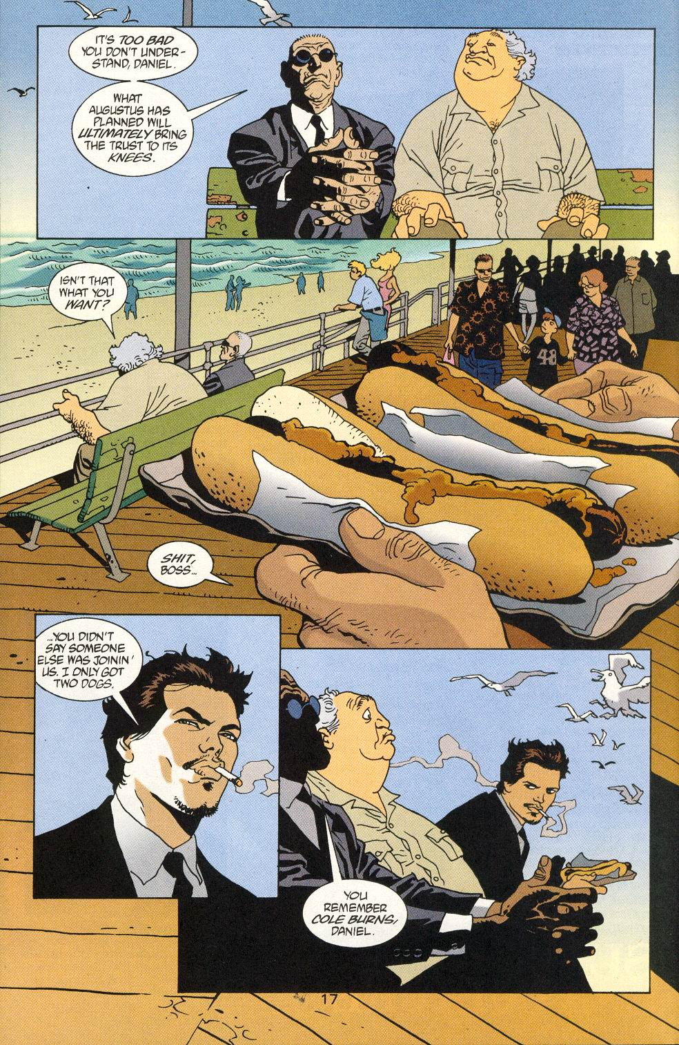 Read online 100 Bullets comic -  Issue #25 - 19