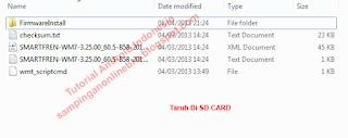 masukan firmware smartfren andro max tab 7.0 ke sd card