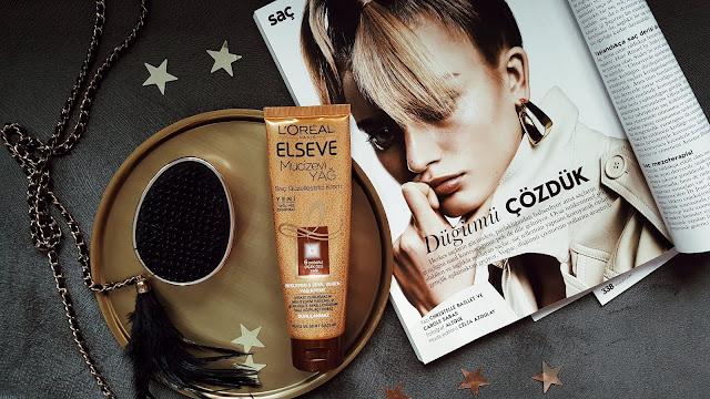 L'oreal Paris Elseve Mucizevi Yağ Saç Güzelleştirici Krem