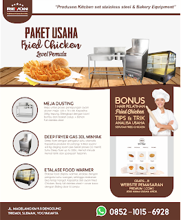paket usaha fried chicken wonosobo