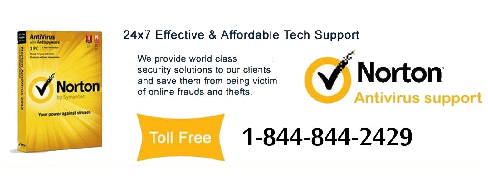 Norton Helpline Number 1 844 844 2429 Toll Free