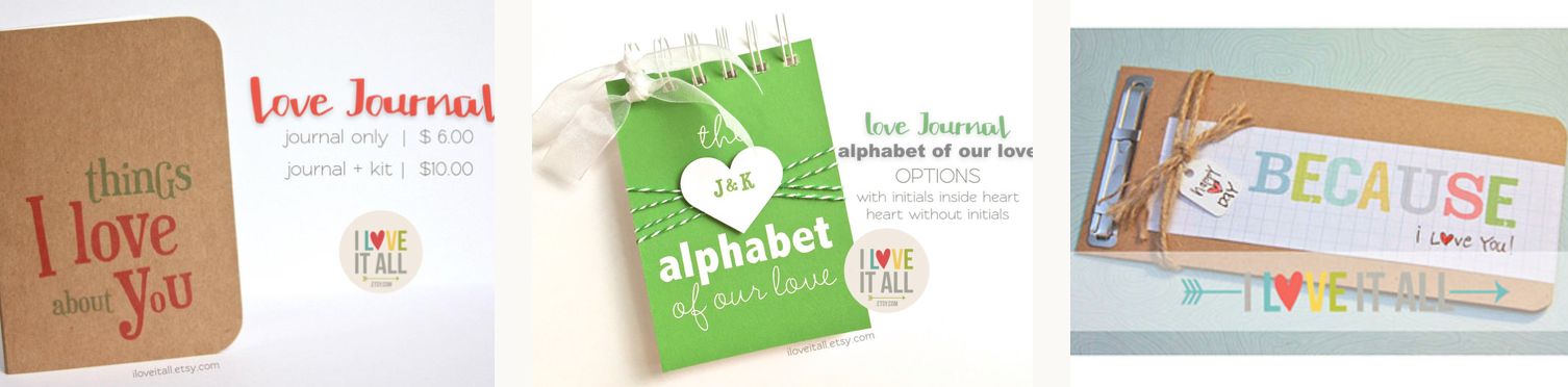 #Valentine's Day #Valentine's Day Gift Ideas #Things I Love #Alphabet of Our Love #Gifts for Him #Romantic Gift