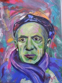 Jorge_Marin_artista_Colombiano Pablo Picasso