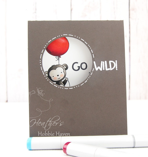 Heathers Hobbie Haven - Neat & Tangled - Wild Ones - Go Wild Card