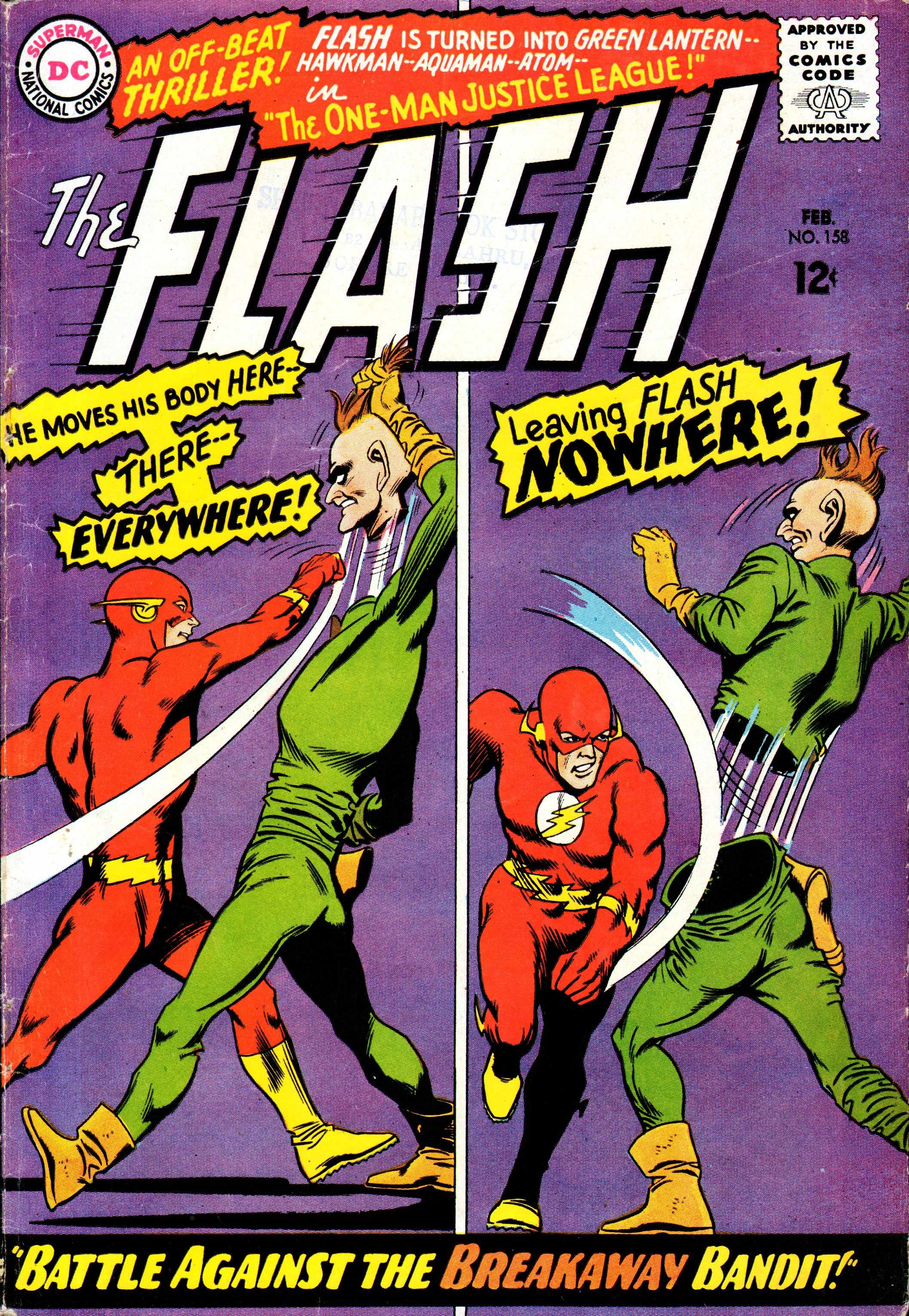 The Flash (1959) 158 Page 1