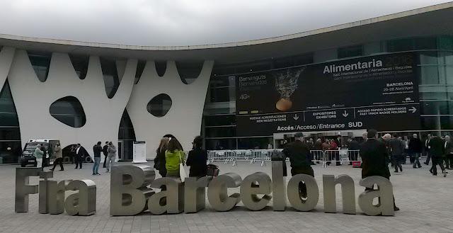 Entrada - Fira de Barcelona - Alimentaria Salón Internacional de alimentación y bebidas 1