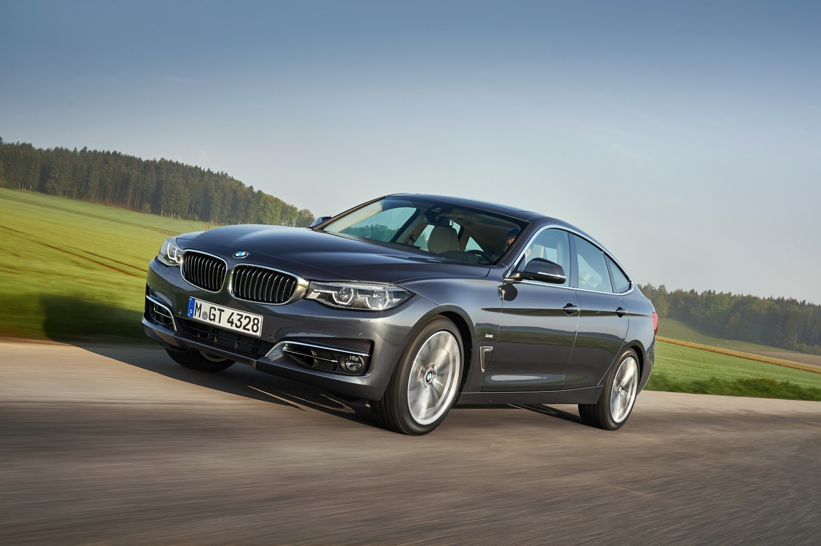 2017 Bmw 3 Series Gran Turismo Facelift Detailed In 60