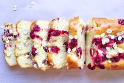 Paleo Cranberry Orange Bread #recipe #healthy