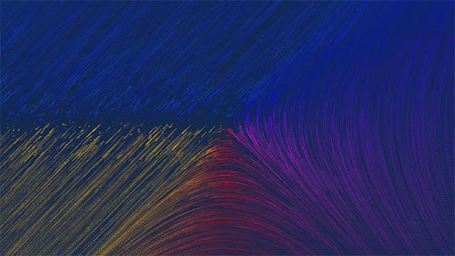 Field Play - A fluid-flow illustration Wallpaper Engine