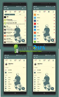 BBM Modifikasi Scooter Terbaru 3.3.6.51 Full Fitur For Android Latest Version