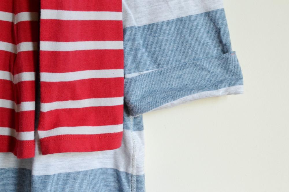 striped stripe tshirts charity shop