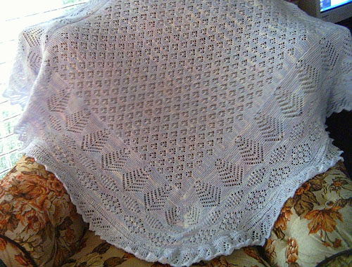 Cloud Drift Baby Shawl - Free Pattern