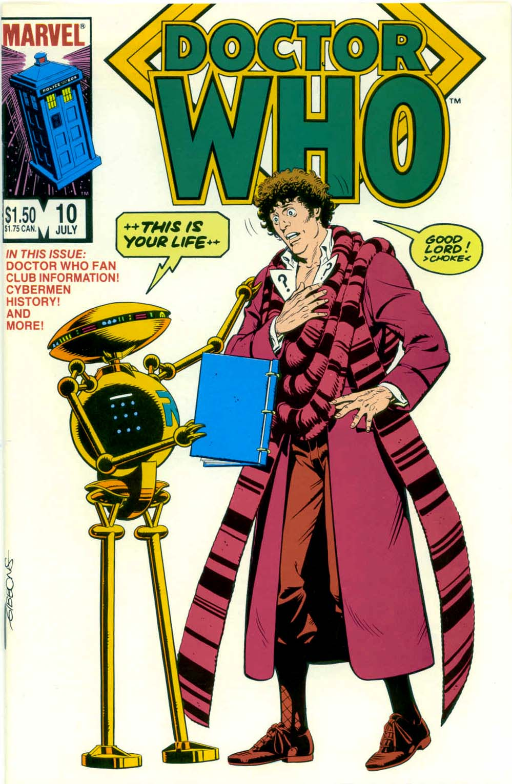 Doctor Who (1984) 10 Page 1