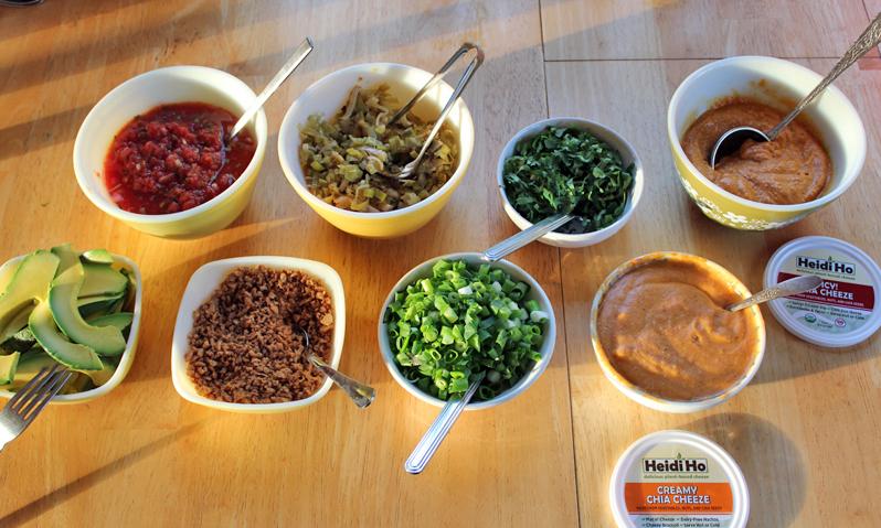 Vegan Eats and Treats!: Baked Potato Buffet Bar Party!