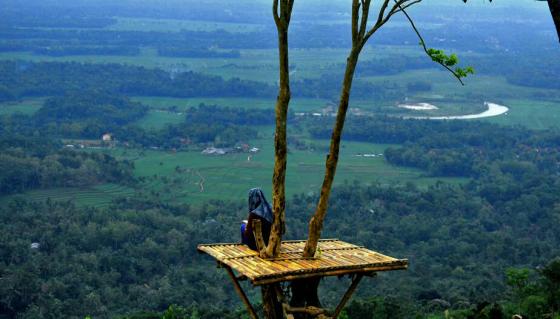 Bukit Rumpit Bike Park, Paduan Wisata Alam dan Olah Raga di Banjarnegara