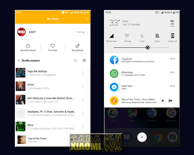 Download Link MIUI Theme Android Oreo Pro Final For Xiaomi Update Version